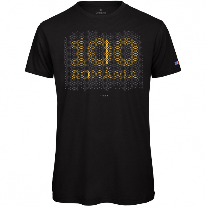 Tricou 100 România - bărbat 0