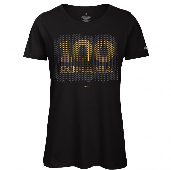 Tricou 100 România - damă 0