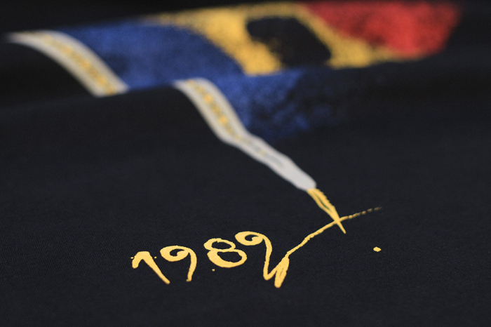 Tricou 1989, bărbat, culoare bleumarin 2