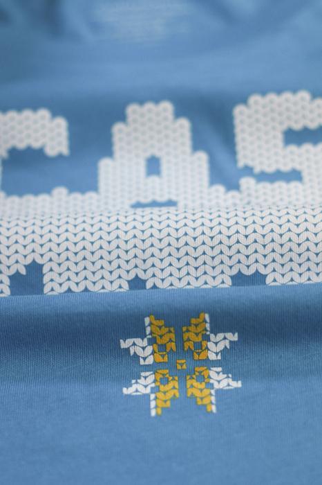 Tricou Acasă, damă, culoare albastră 2