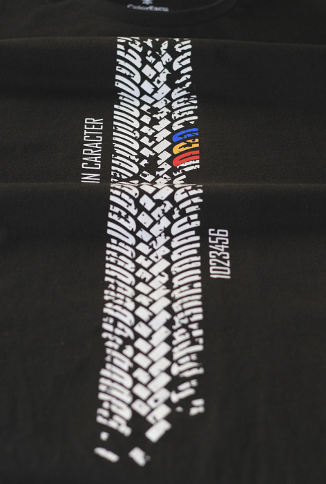 Tricou Amprentă Moto - bărbat 1