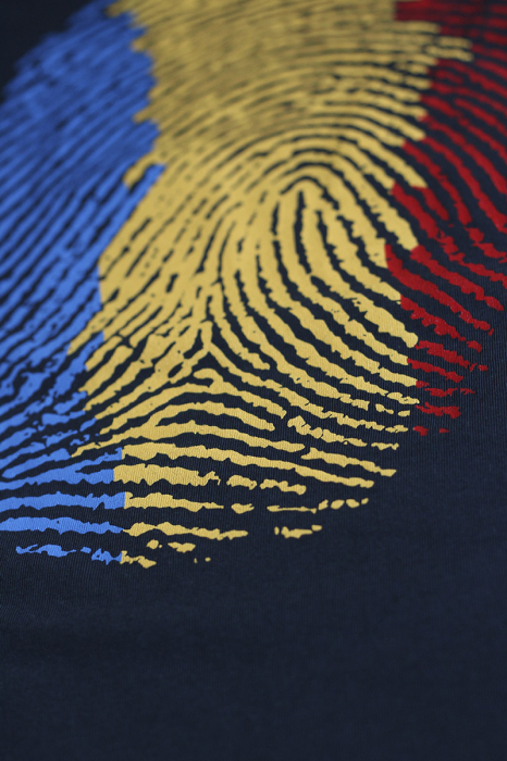 Tricou Amprentă România - damă 2