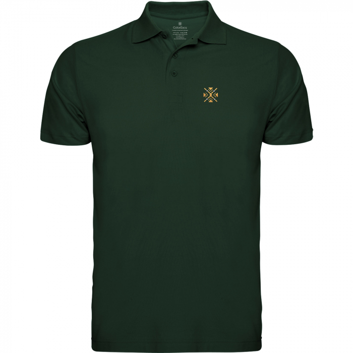 Tricou ColorEscu polo brodat 0