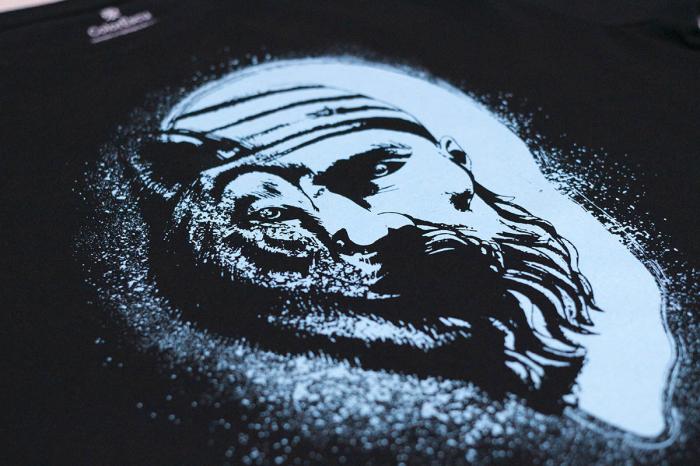 Tricou Dac-Lup, bărbat, culoare neagră [1]