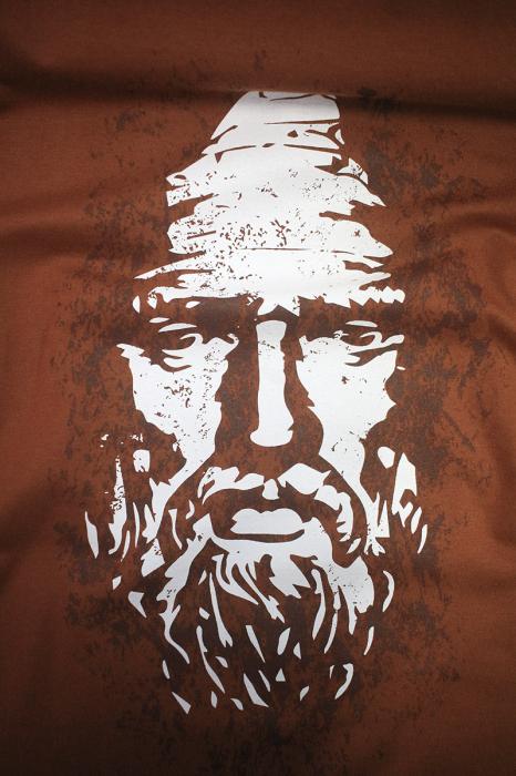 Tricou Decebal, culoare cărămiziu 1
