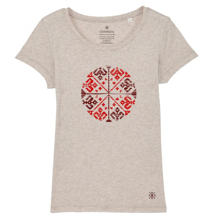 Tricou Floare Tradițională 0