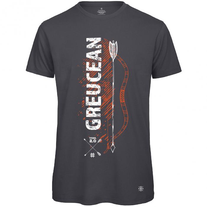 Tricou Greucean, culoare gri închis 0