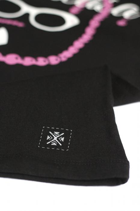 Tricou Jupâneasă, culoare neagră [2]