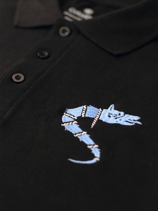 Tricou Lupul Dacic - brodat 1