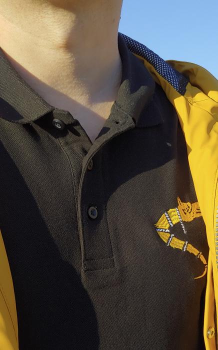 Tricou Lupul Dacic - brodat 4