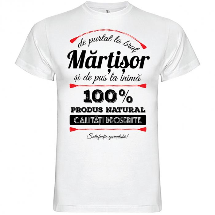 Tricou Mărțișor, culoare albă 0