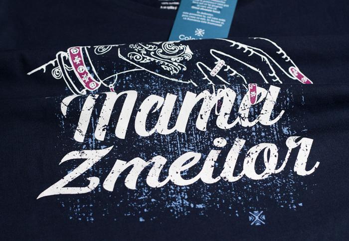 Tricou Mama Zmeilor, CP22, culoare bleumarin 1