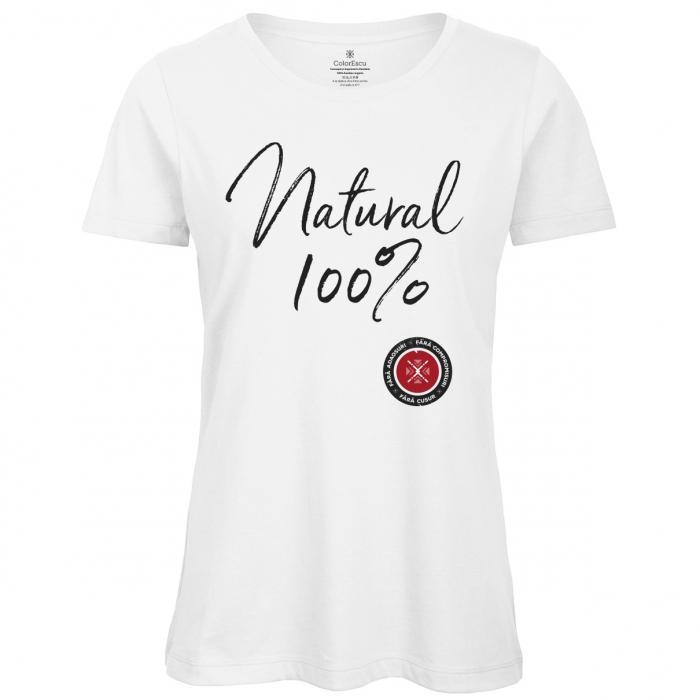 Tricou - Natural 100%, fără cusur 0