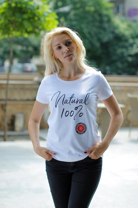 Tricou - Natural 100%, fără cusur 1