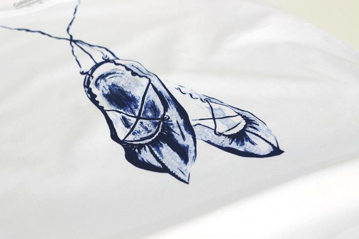 Tricou Opinci Românești, bărbat, culoare albă [1]