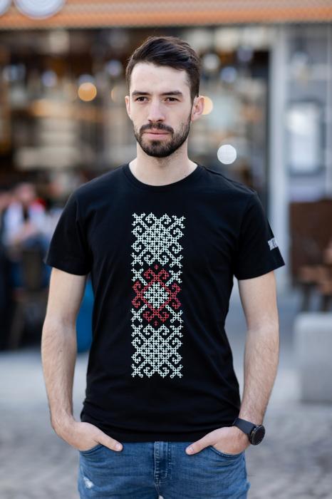 Tricou Origini - negru, bărbat 1