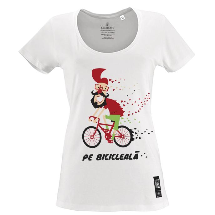 Tricou Pe bicicleală - damă 0