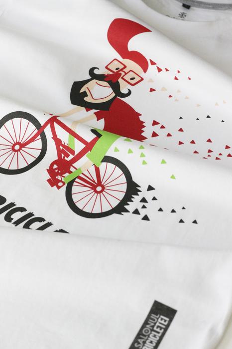 Tricou Pe bicicleală - bărbat 1