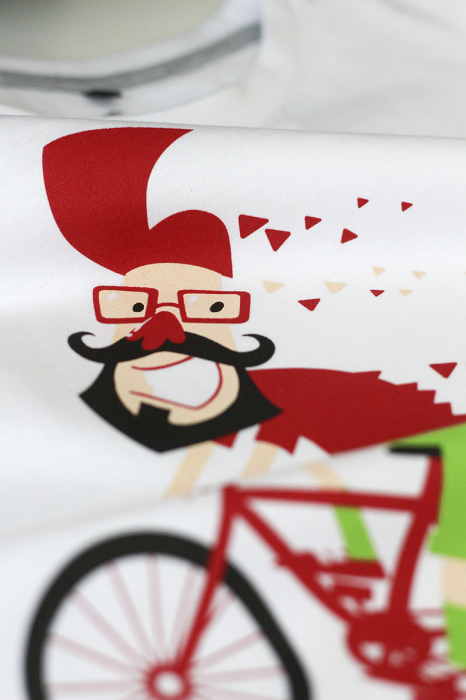 Tricou Pe bicicleală - bărbat 2