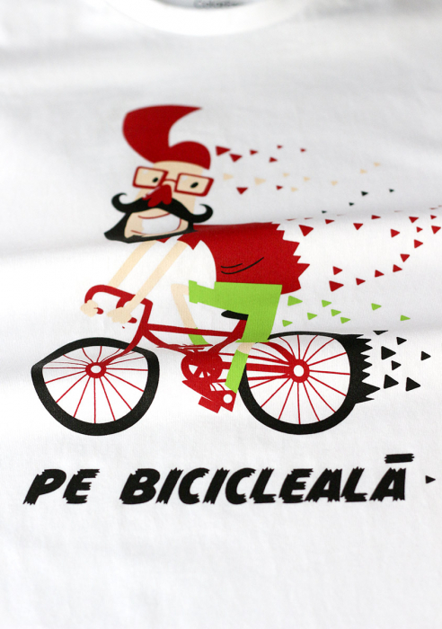 Tricou Pe bicicleală - damă 1