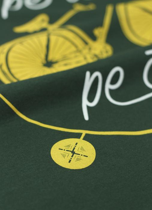 Tricou Pe ici, Pe colo, bărbat, culoare verde [3]