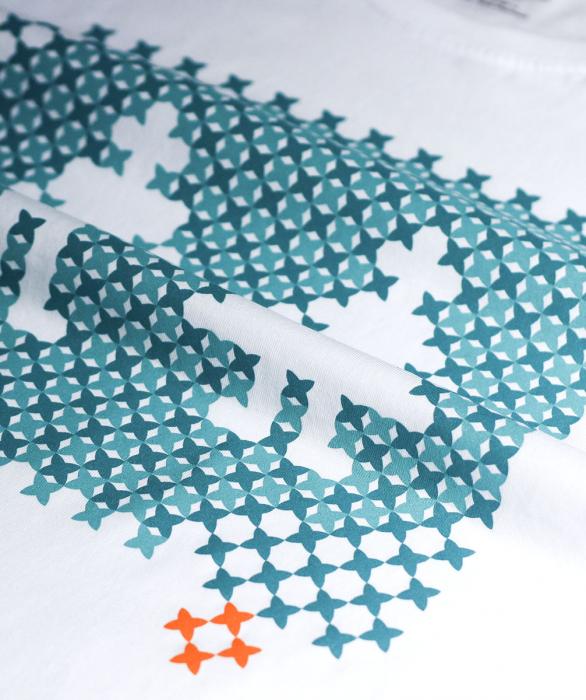 Tricou Pe Românește, bărbat, culoare albă 1