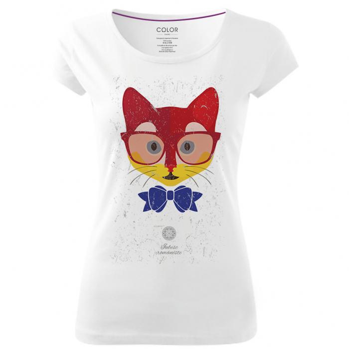 Tricou Pisică Tricoloră 0