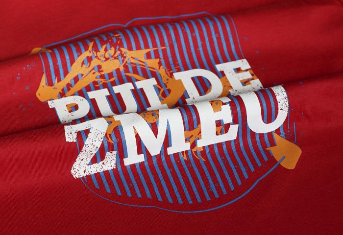Tricou Pui de Zmeu rosu 1