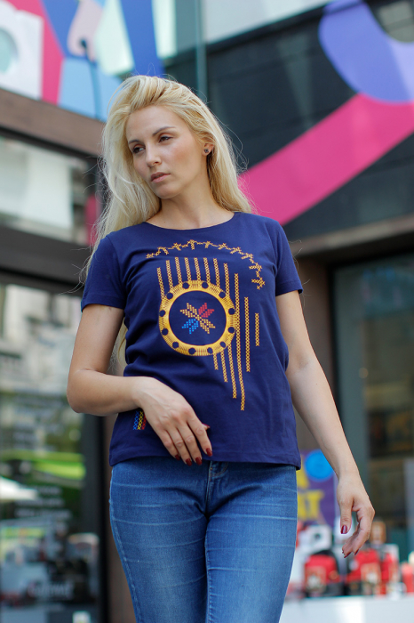 Tricou Simbol România - damă 1