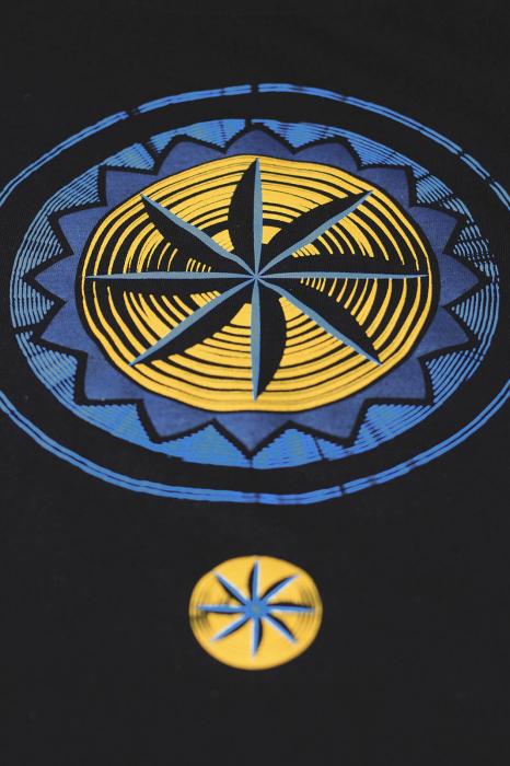 Tricou Simbol, damă, culoare neagră 1