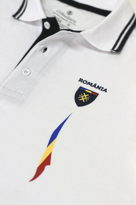 Tricou Tricolor România polo, bumbac [3]