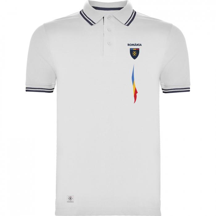 Tricou Tricolor România polo, bumbac [0]