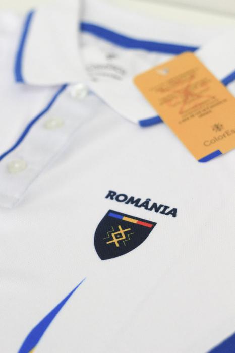 Tricou Tricolor România, polo, material tehnic sport [2]