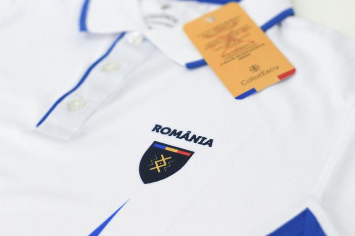 Tricou Tricolor România, polo, material tehnic sport [3]