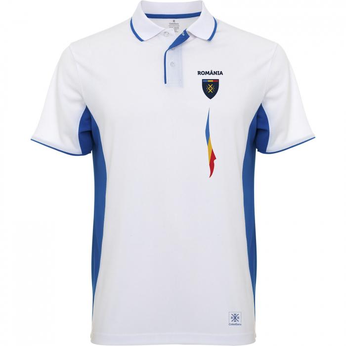 Tricou Tricolor România, polo, material tehnic sport [0]