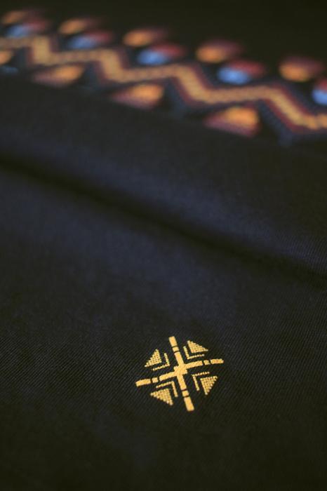 Tricou Tradiții, bărbat, culoare neagră 1