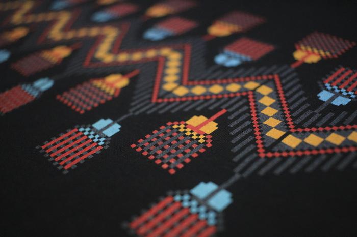 Tricou Tradiții, bărbat, culoare neagră 2