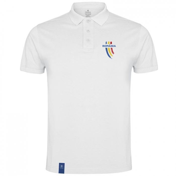 Tricou Trei Culori, polo, material tehnic sport [0]