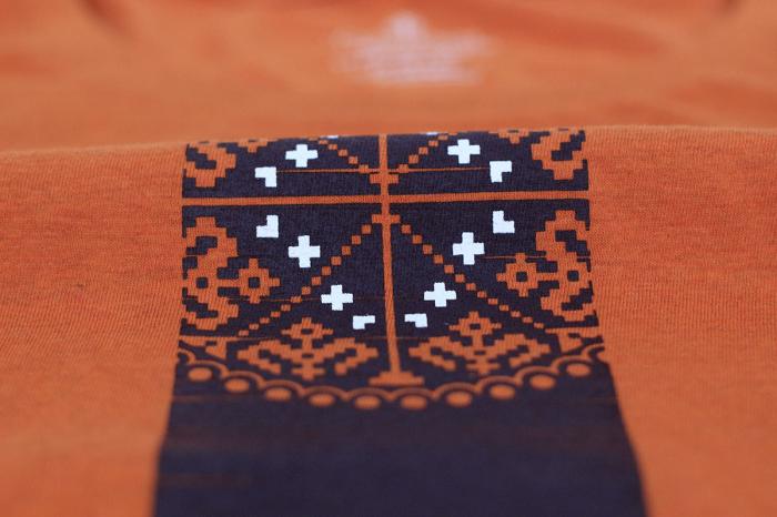 Tricou Vremuri noi, culoare oranj [2]