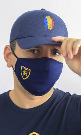Mască brodată Simbol Tricolor1