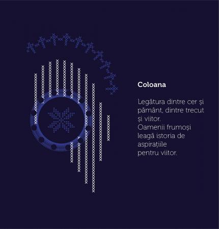 Tricou Simbol România, bleumarin, bărbat3