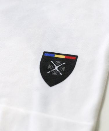 Bluză de compresie sport Lup Dacic, material tehnic sport, unisex [4]