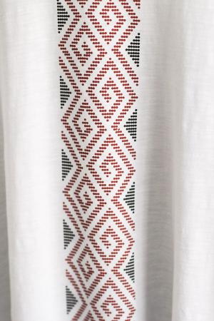 Bluză Mândră, mânecă 3/4, culoare albă2
