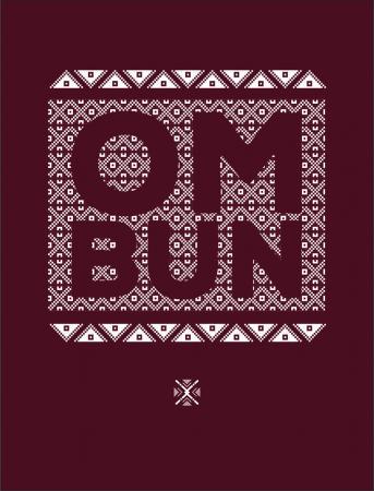 Bluză Om Bun, bărbat, culoare grena2