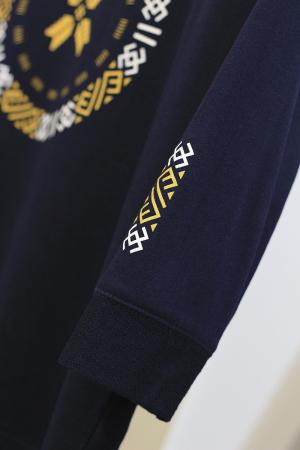 Bluză Semne Bune, mânecă 3/4, culoare bleumarin1