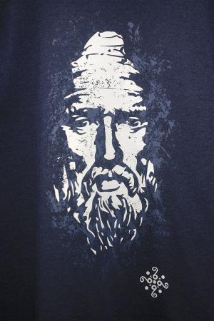Bluză Decebal, culoare denim2