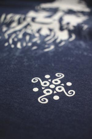 Bluză Decebal, culoare denim1
