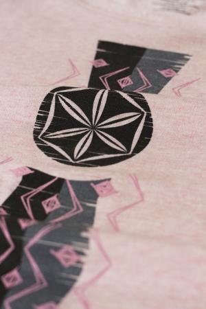 Bluză Infinitul, mânecă 3/4, culoare roz1