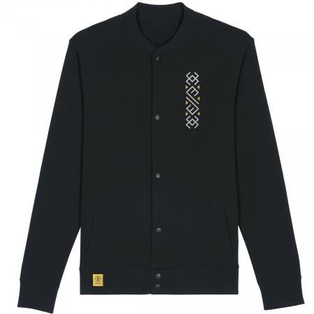 Jachetă Semne Bune, broderie, culoare neagră0