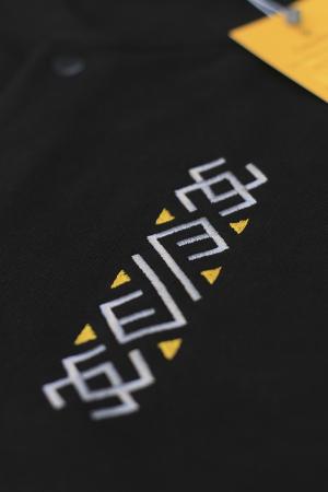 Jachetă Semne Bune, broderie, culoare neagră2